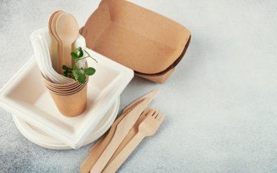 Vaisselle biodégradable